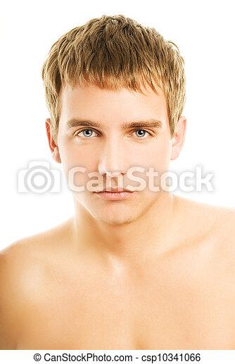 bonito, homem jovem - csp10341066