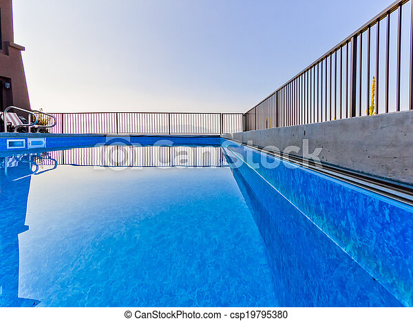 bonito, instalação, piscina - csp19795380
