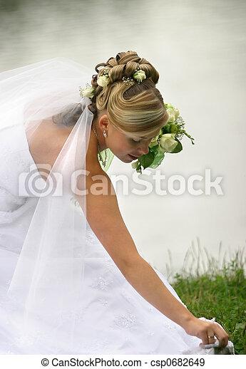 bonito, noiva - csp0682649