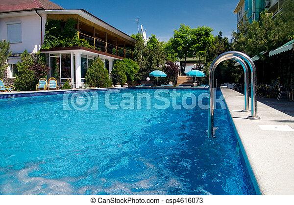 bonito, piscina - csp4616073