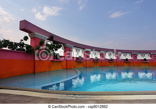 bonito, piscina - csp8012862
