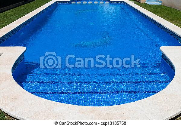 bonito, piscina, natação - csp13185758