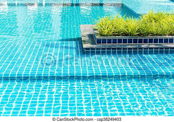 bonito, piscina, natação - csp38249403