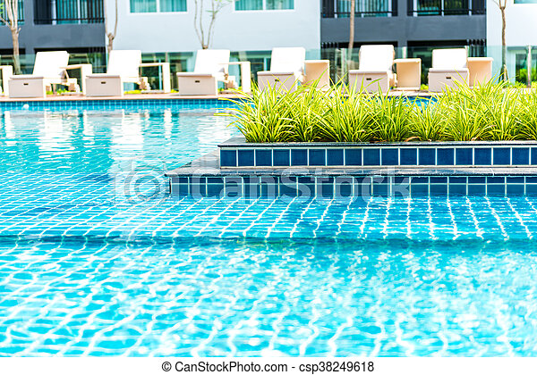 bonito, piscina, natação - csp38249618
