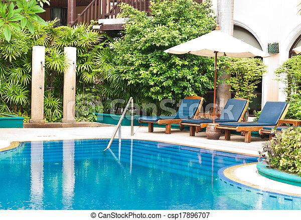 bonito, pool., natação - csp17896707