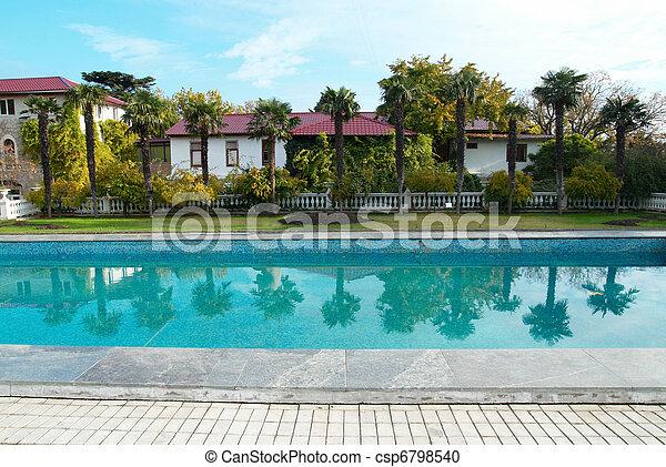 bonito, pool., natação - csp6798540