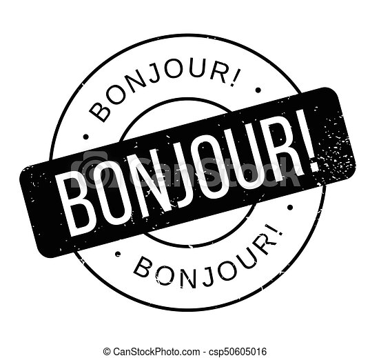 bonjour rubber stamp grunge design with dust scratches vector rh canstockphoto com sg Eiffel Tower Clip Art France Clip Art