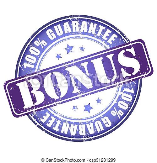 Bonus stamp. - csp31231299
