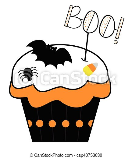 Boo Cupcake - csp40753030
