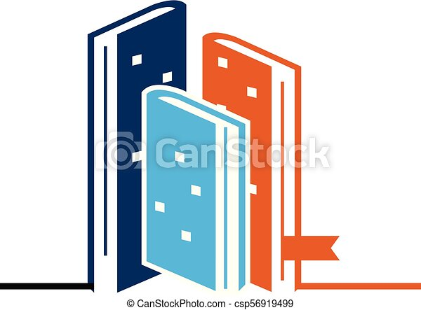 Book and Hotel Vector - csp56919499
