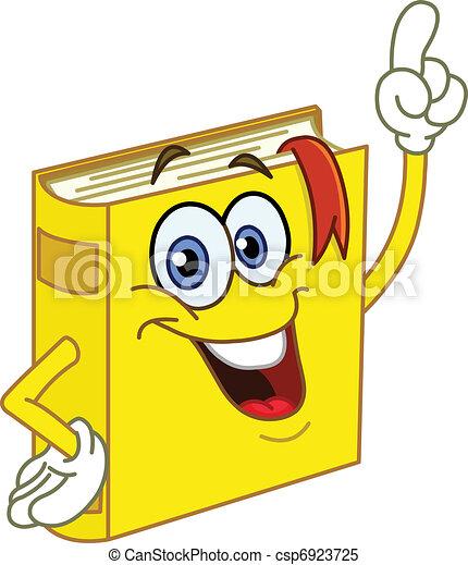Book cartoon - csp6923725