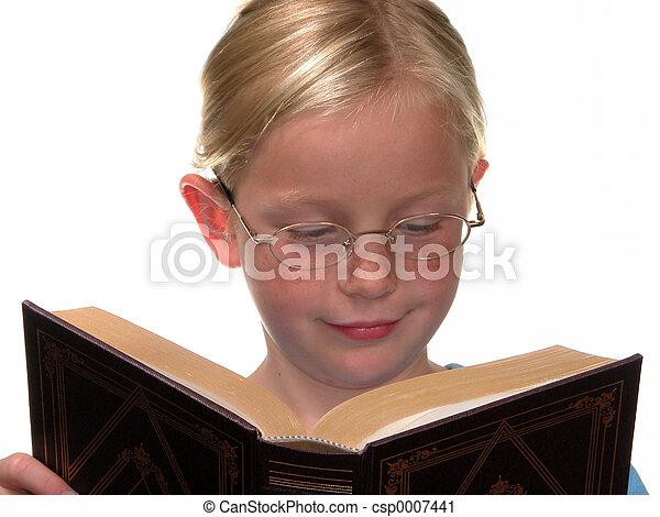 Book Girl - csp0007441