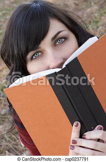 Book Girl - csp0237791
