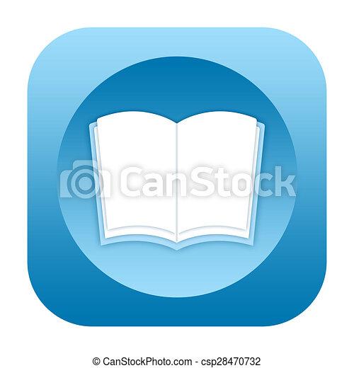 Book icon - csp28470732