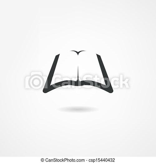 book icon - csp15440432