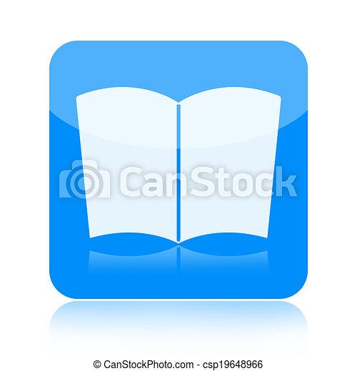 Book icon - csp19648966