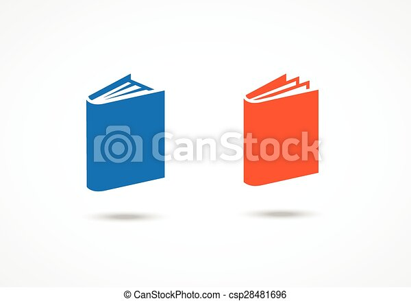Book icons - csp28481696