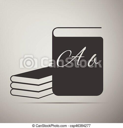 Book Icons. - csp46384277