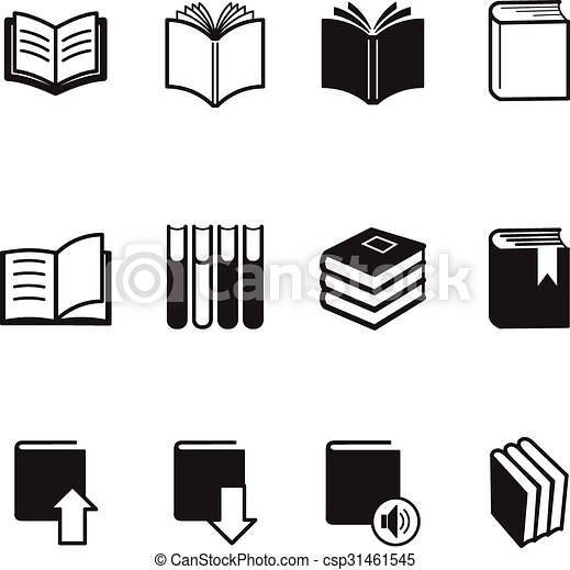 Book icons Vector Illustration - csp31461545