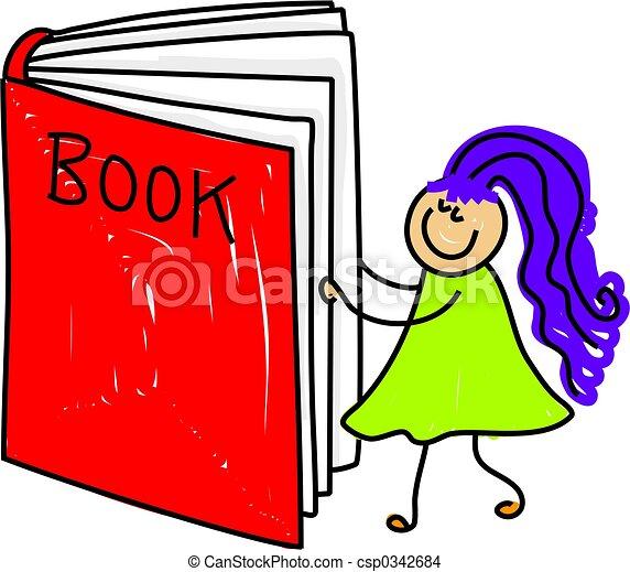 book kid - csp0342684