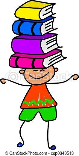 book kid - csp0340513