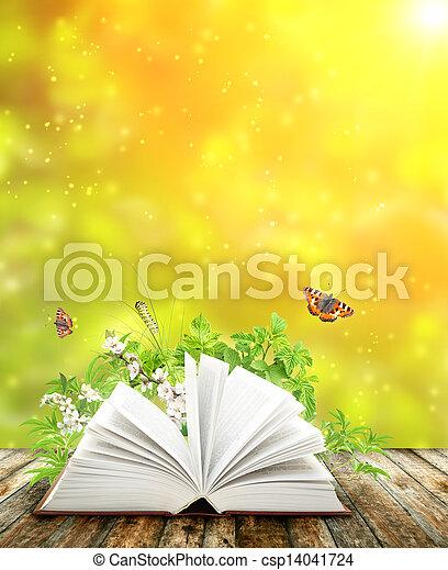 Book of nature - csp14041724