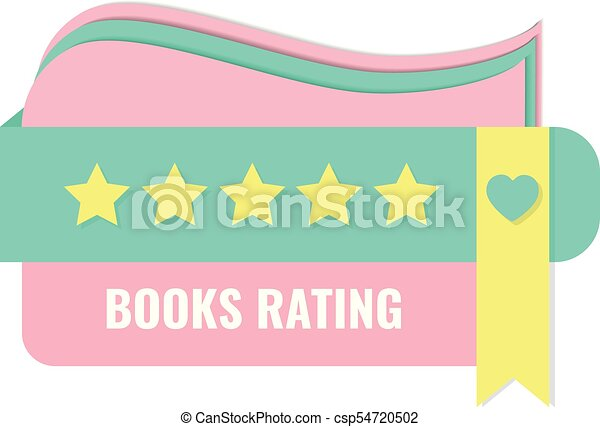 book rating concept with bookmark and stars banner for book club rh canstockphoto ca book club clipart images