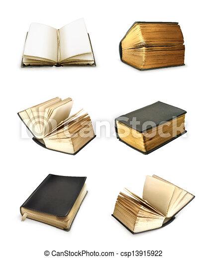 Book set vector - csp13915922