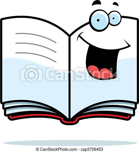 Book Smiling - csp3706453