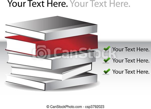 Book Stack - csp3792023