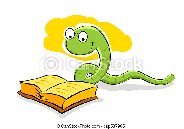 book with snake - csp5379651