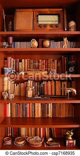 Bookcase - csp7168935
