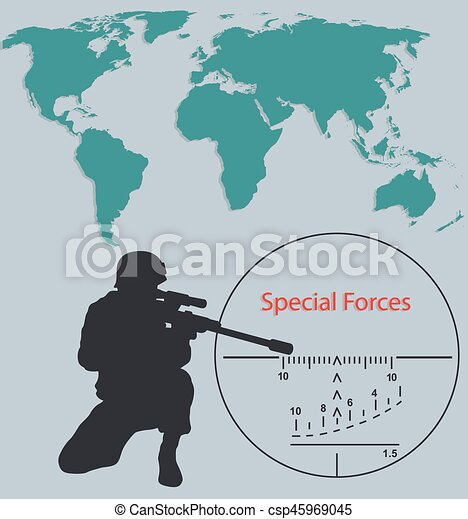 Booklet special forces sniper and world mapeps booklet eps booklet special forces sniper and world mapeps csp45969045 gumiabroncs Gallery