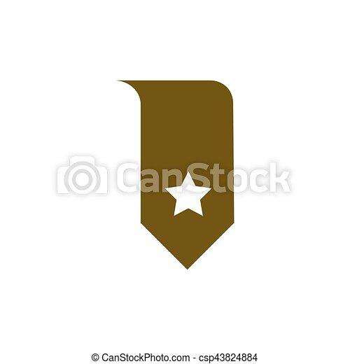 Bookmark icon vector - csp43824884