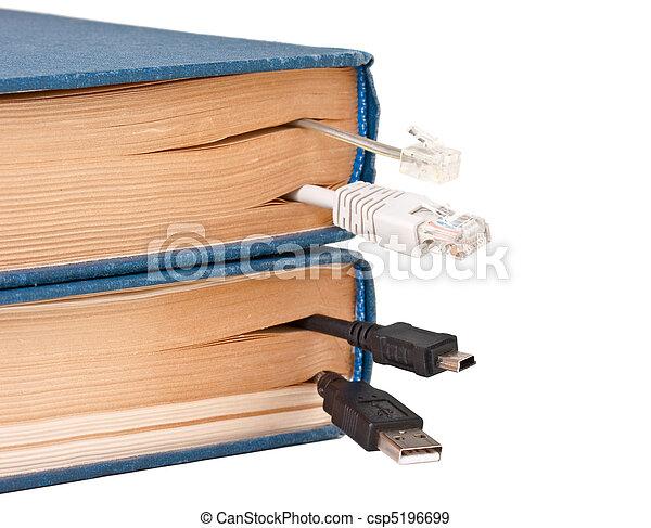 bookmark in the book - csp5196699