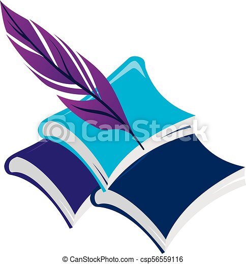 Books and Feather - csp56559116