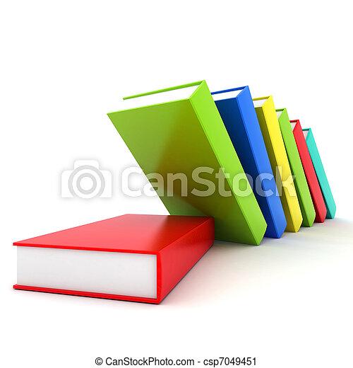 Books bindings and Literature - csp7049451