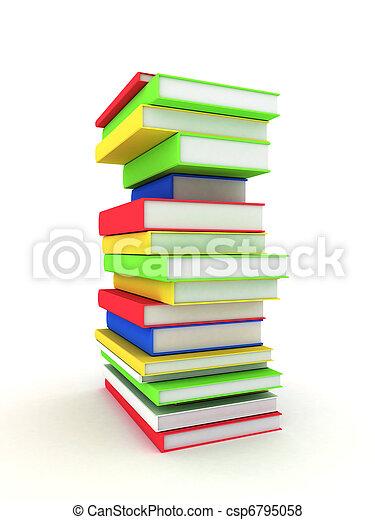Books bindings and Literature - csp6795058