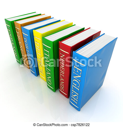 Books bindings and Literature - csp7826122