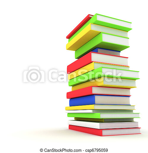 Books bindings and Literature - csp6795059