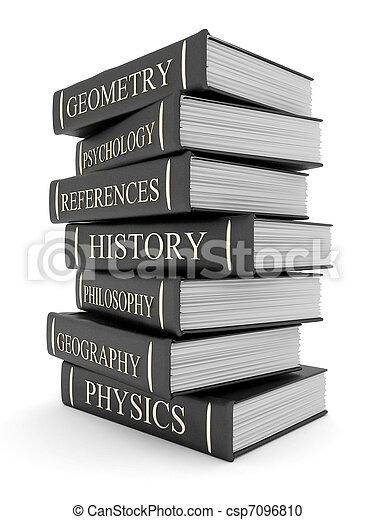 Books bindings and Literature - csp7096810