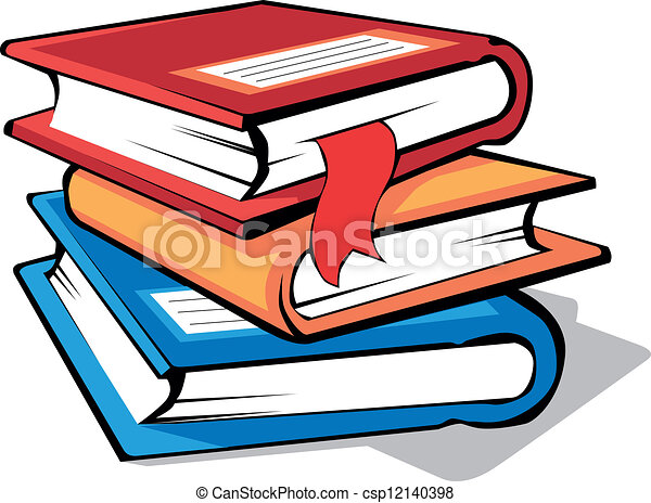 stack of colorful books eps vectors search clip art illustration rh canstockphoto com