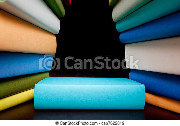 books education study books  - csp7622819