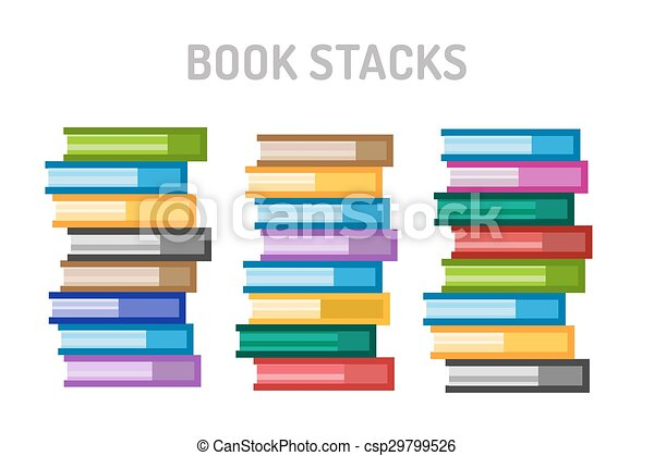 College Books For Sale >> Books Vector Logo Icons Set Sale Background
