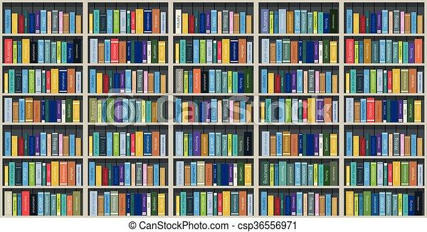 Bookshelf - csp36556971