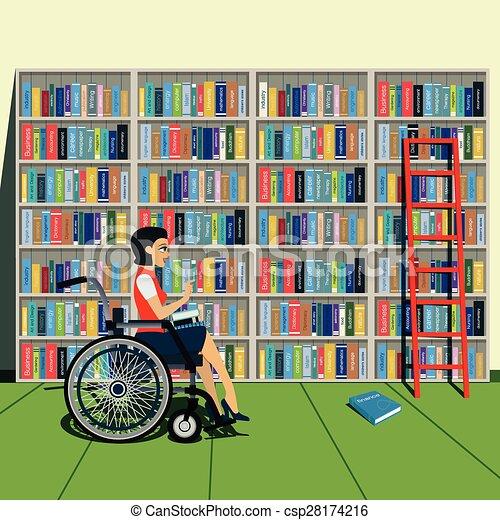 bookshelf - csp28174216