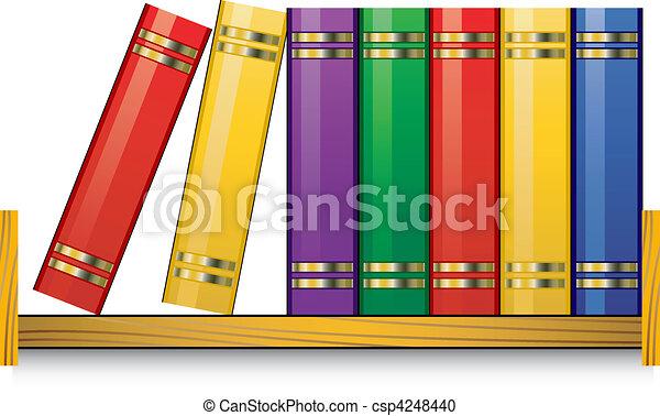 Bookshelf - csp4248440