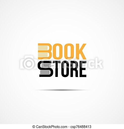 Bookstore logo - csp76488413
