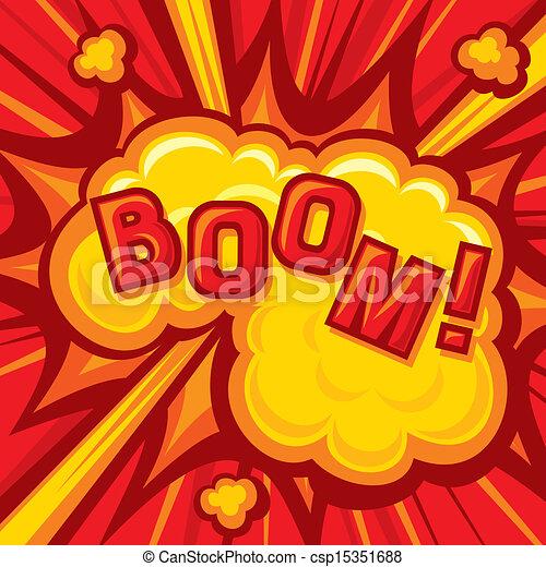 Boom - Explosion - csp15351688