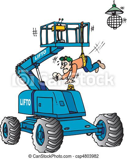 Boom lift - csp4803982